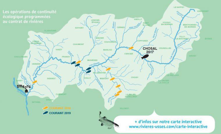 Carte operations écologiques