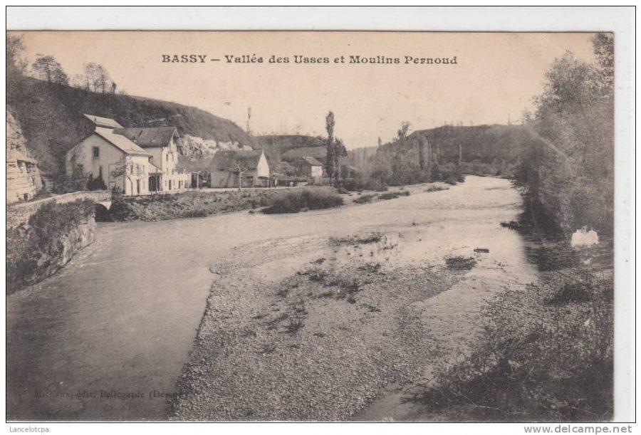 basse vallée des usses et moulins pernoud
