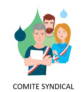 Sticker Comite Syndical